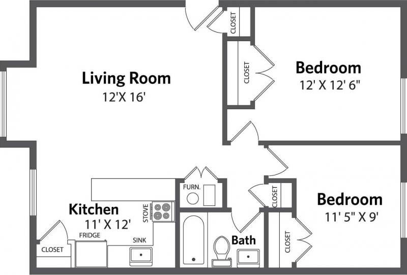 Oak Park  Floorplan