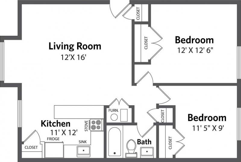 Evergreen Terrace  Floorplan