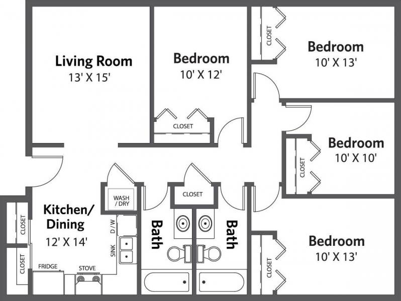 Highland North  Floorplan